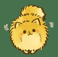 The Pomeranian!! sticker #3884821