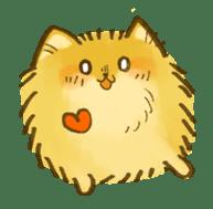 The Pomeranian!! sticker #3884823