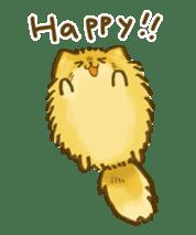 The Pomeranian!! sticker #3884824