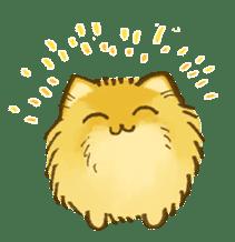 The Pomeranian!! sticker #3884825