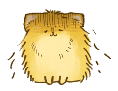 The Pomeranian!! sticker #3884834