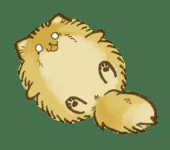 The Pomeranian!! sticker #3884835