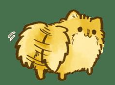 The Pomeranian!! sticker #3884837