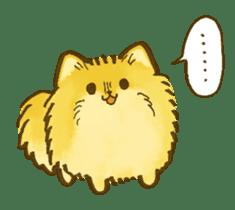 The Pomeranian!! sticker #3884838