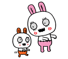 ZombieRabbit sticker #3898450