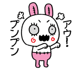 ZombieRabbit sticker #3898453