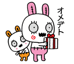 ZombieRabbit sticker #3898458