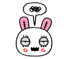 ZombieRabbit sticker #3898467