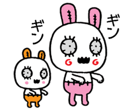 ZombieRabbit sticker #3898478