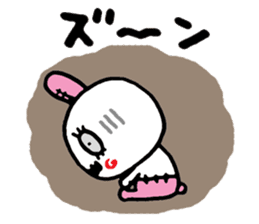 ZombieRabbit sticker #3898480