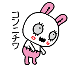 ZombieRabbit sticker #3898481
