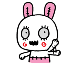 ZombieRabbit sticker #3898486