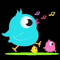 Colorful Chicks ver English