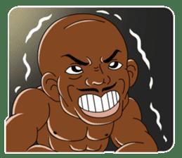Muscle man sticker #3905168