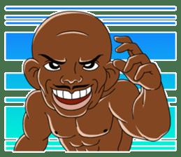 Muscle man sticker #3905169