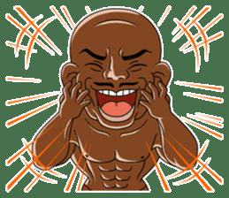 Muscle man sticker #3905183