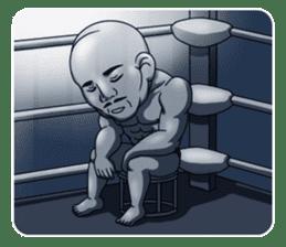 Muscle man sticker #3905193