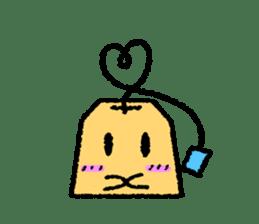 tea bag chan sticker #3915327