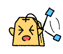 tea bag chan sticker #3915328