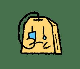 tea bag chan sticker #3915330