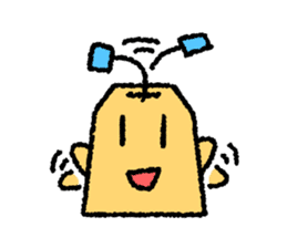 tea bag chan sticker #3915340