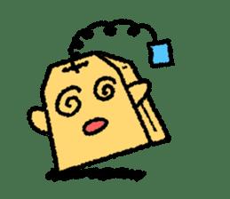 tea bag chan sticker #3915342