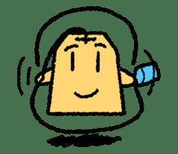 tea bag chan sticker #3915343