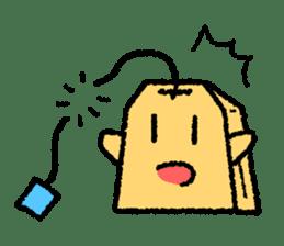 tea bag chan sticker #3915345
