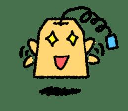 tea bag chan sticker #3915347