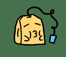 tea bag chan sticker #3915348