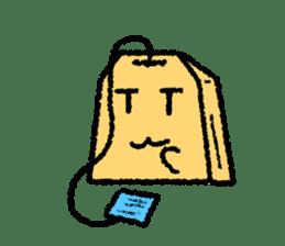 tea bag chan sticker #3915355