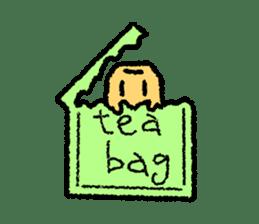 tea bag chan sticker #3915357