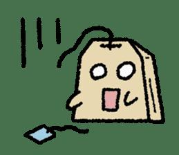 tea bag chan sticker #3915358