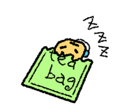 tea bag chan sticker #3915360