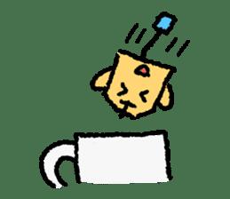 tea bag chan sticker #3915364