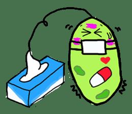 Cute Euglena sticker #3917650