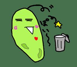 Cute Euglena sticker #3917673