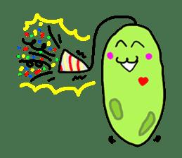 Cute Euglena sticker #3917677