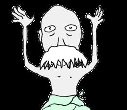 Sticker of a strange character.04 sticker #3919745