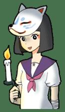 shaman girl sticker #3922561