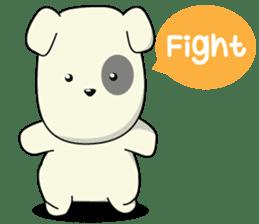 Caramel : Naughty dog sticker #3923007