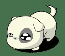 Caramel : Naughty dog sticker #3923010