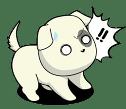 Caramel : Naughty dog sticker #3923018
