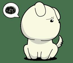 Caramel : Naughty dog sticker #3923025