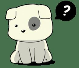 Caramel : Naughty dog sticker #3923027