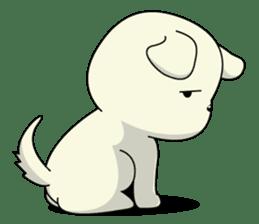 Caramel : Naughty dog sticker #3923028