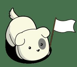 Caramel : Naughty dog sticker #3923032