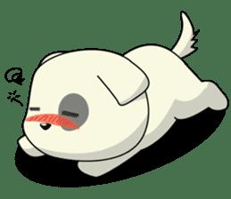 Caramel : Naughty dog sticker #3923034