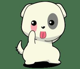 Caramel : Naughty dog sticker #3923035