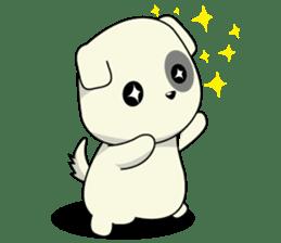 Caramel : Naughty dog sticker #3923036